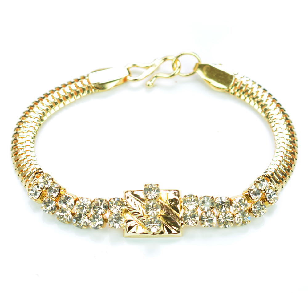 jewel rakhi golden diamond amazing brother prince bracelet buy online