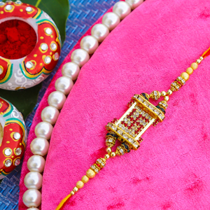 Jewel Rakhi for Brother