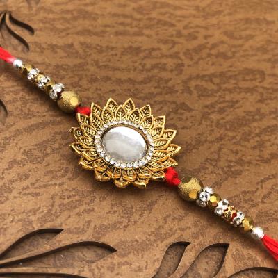 Stunning Bond of Love Sun Stone Rakhi