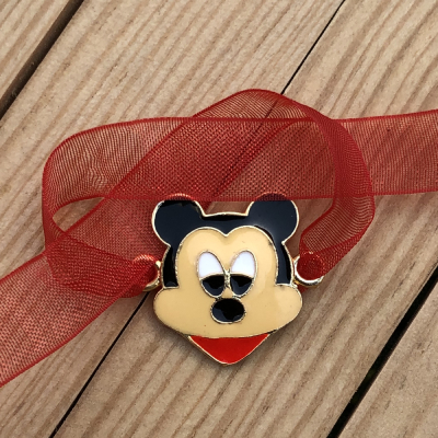 Smiling Mickey Mouse Rakhi for Kids & Brother
