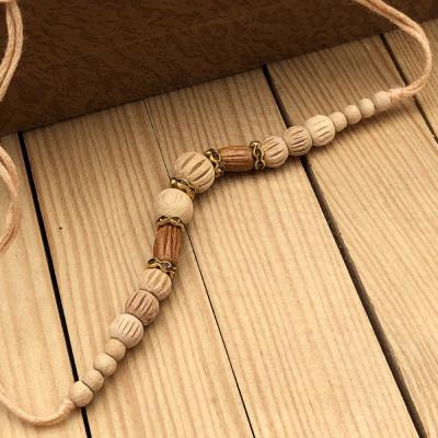 Exclusive Earthy Beads Brother Rakhi Set for Raksha Bandhan