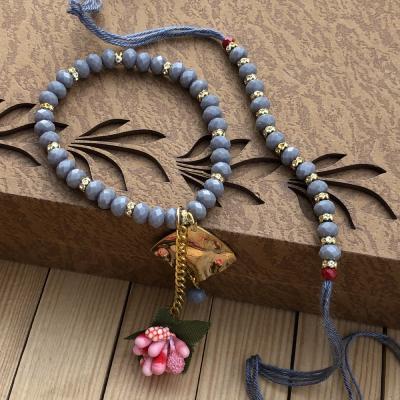 Stunning Bracelet Rakhi Set for Bhaiya Bhabhi