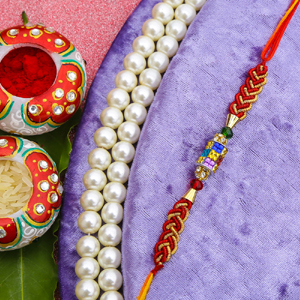 Sparkling Rakhi Thread