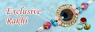 Exclusive Rakhi Collection